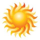 Sun logo Royalty Free Stock Photos