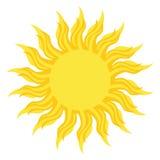 Sun logo Stock Photos