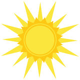 Sun logo Stock Photos