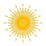 Sun logo Royalty Free Stock Photo
