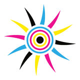 Sun logo Stock Photography