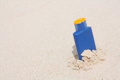 Sun lotion Stock Photography