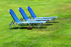 Sun lounger Stock Photo