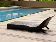 The sun loungers Royalty Free Stock Photography