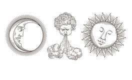 Sun, luna, viento