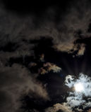Sun after lunar eclipse Royalty Free Stock Image