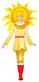Sun man Royalty Free Stock Photos