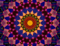 Sun mandala good vibes Stock Image