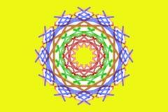 Sun Mandala Stock Images