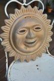 Sun medallion Stock Image