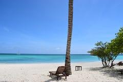 Sun, Meer, Strand und wunderbare Stimmung stockbilder