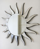 Sun mirror Stock Photography