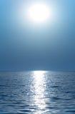 Sun or moon stock photography