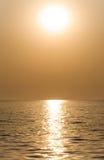 Sun or moon Royalty Free Stock Image
