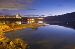 Sun Moon Lake Beautiful scenery in Taiwan Royalty Free Stock Photography