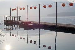 Sun Moon Lake, Nantou, Taiwan stock image