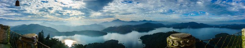 Sun Moon Lake Stock Photo