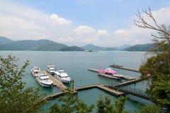 SUN MOON LAKE in Taiwan Royalty Free Stock Image