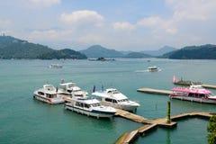 Sun Moon Lake in Taiwan Stock Image