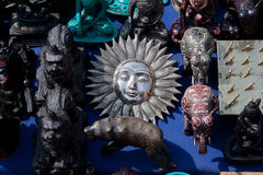 Sun Motif, Kathmandu, Nepal Royalty Free Stock Images