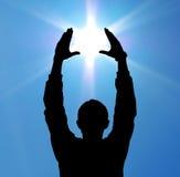 Sun no controle Imagens de Stock Royalty Free