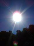 Sun no zénite? Foto de Stock