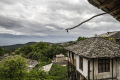 Old Bulgaria Village Country side. Small Village Restaurant in old village Leshten, in the Bulgarian Rhodope Mountains Royalty Free Stock Photo