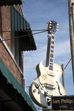 Sun notieren das Studio, das vom Rock-and-Rollpionier Sam Phillips in Memphis Tennessee USA geöffnet ist Lizenzfreie Stockfotografie