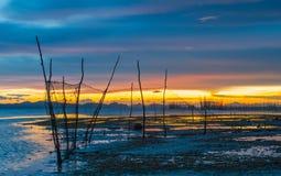 Sun, nuvole e cielo, mare fotografia stock libera da diritti