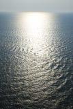 Sun on ocean. Royalty Free Stock Photo