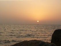 Sun och hav Royaltyfria Bilder