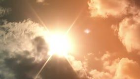 Sun och oklarheter lager videofilmer