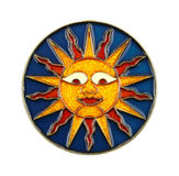 Sun ornament Royalty Free Stock Image