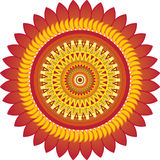 Sun_ornament Royalty Free Stock Photos