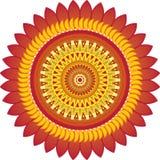 Sun_ornament Fotos de Stock Royalty Free