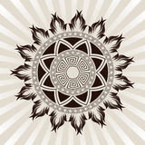 Sun ornament vector Stock Photos