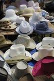 Sun ou chapeaux de plage Photos libres de droits