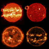 Sun in outer space. Elements of this image furnished by NASA Stock Images