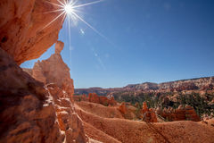 Sun over Bryce Royalty Free Stock Photography