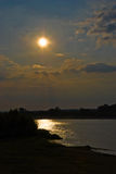 Sun Over Loire Royalty Free Stock Images