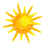 Sun painted Royalty Free Stock Photos