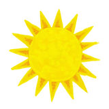 Sun painting Royalty Free Stock Images