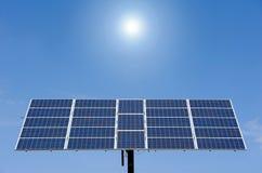 Sun panel Stock Image