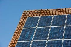 Sun-Panels Stockfotografie