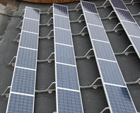 Sun-Panels Stockfoto