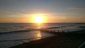 Sun para baixo Fotografia de Stock