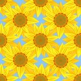 Sun pattern5 Lizenzfreies Stockbild