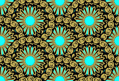 Sun pattern Stock Image