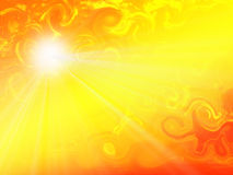 Sun Patterns Stock Images