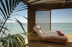 Sun place. The great relax place Stock Photography